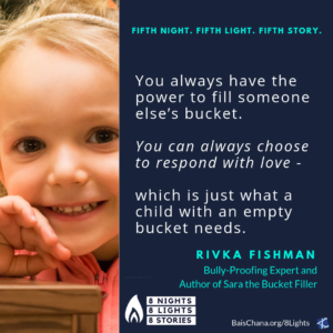 Rivka Fishman -Sara the Bucket Filler